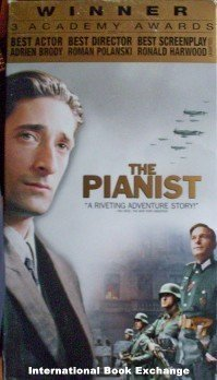 The Pianist Adrien Brody (VHS Good)