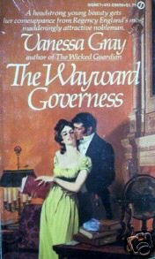 The Wayward Governess by Vanessa Gray (MMP 1979 G)