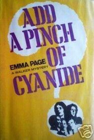 Add a Pinch of Cyanide Emma Page (HB 1973 G/G) *