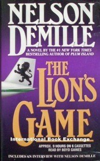 The Lion's Game Nelson Demille (2000, Abridged, Audio)