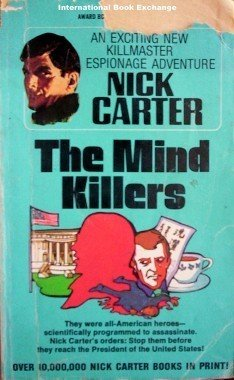 The Mind Killers Nick Carter - Killmaster (MMP 1970 G)