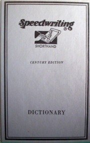 Speedwriting Shorthand Dictionary  Alexander Sheff (HB