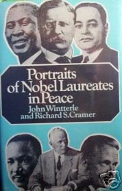 Portraits of Nobel Laureates in Peace J Wintterle (HB G