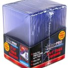 Pack of 25 ~ Ultra Pro Thick Rigid Clear Top Loaders Pack ~ 100pt ~ New!