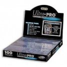 1 Case of 1000 Ultra Pro PLATINUM 9 Pocket Card Page Sheet Case