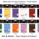 (x600) ULTRA PRO Card Sleeves *DECK PROTECTORS -SMALL-* 10 Packs Mix/Match Black