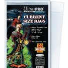 (200) Ultra Pro CURRENT / MODERN Size Bags Poly Comic Book Acid Free