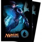 (80) Ultra Pro JACE BLUE MANA  Deck Protector SLEEVES Magic The Gathering MTG