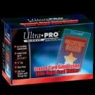 (x50) Ultra Pro TALL LARGE Semi Rigid Card Holders BGS GRADED SUBMISSION