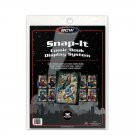 2 Packs BCW Snap-It Comic Book Wall Display System 24 Panels Holders Frames New