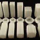 10 Coin Safe Plastic SQUARE COIN TUBES Combination MIX n MATCH - Coin Supplies