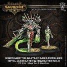Warmachine: Cryx Goreshade the Bastard & Deathwalker Warcaster 34088