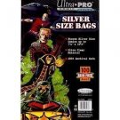 (200) Ultra Pro SILVER SIZE Storage Bags Brand New Factory Sealed