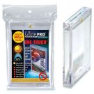 2 Ultra Pro ONE TOUCH MAGNETIC 360pt UV Card Holder Display Case 82719-UV 360