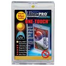 25 ULTRA PRO One Touch Magnetic Holders 55 pt UV Gold Magnet 55 point