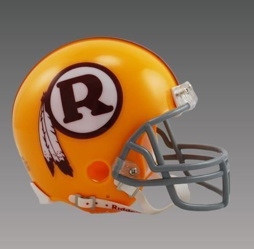 WASHINGTON REDSKINS (1970-71) Mini Throwback Helmet BRAND NEW