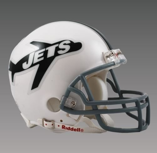 NEW YORK NY JETS (1963) Mini Throwback Helmet BRAND NEW
