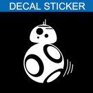 Star Wars BB 8 Droid Decal Sticker