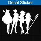 Sailor Moon Team Outter Decal Sticker