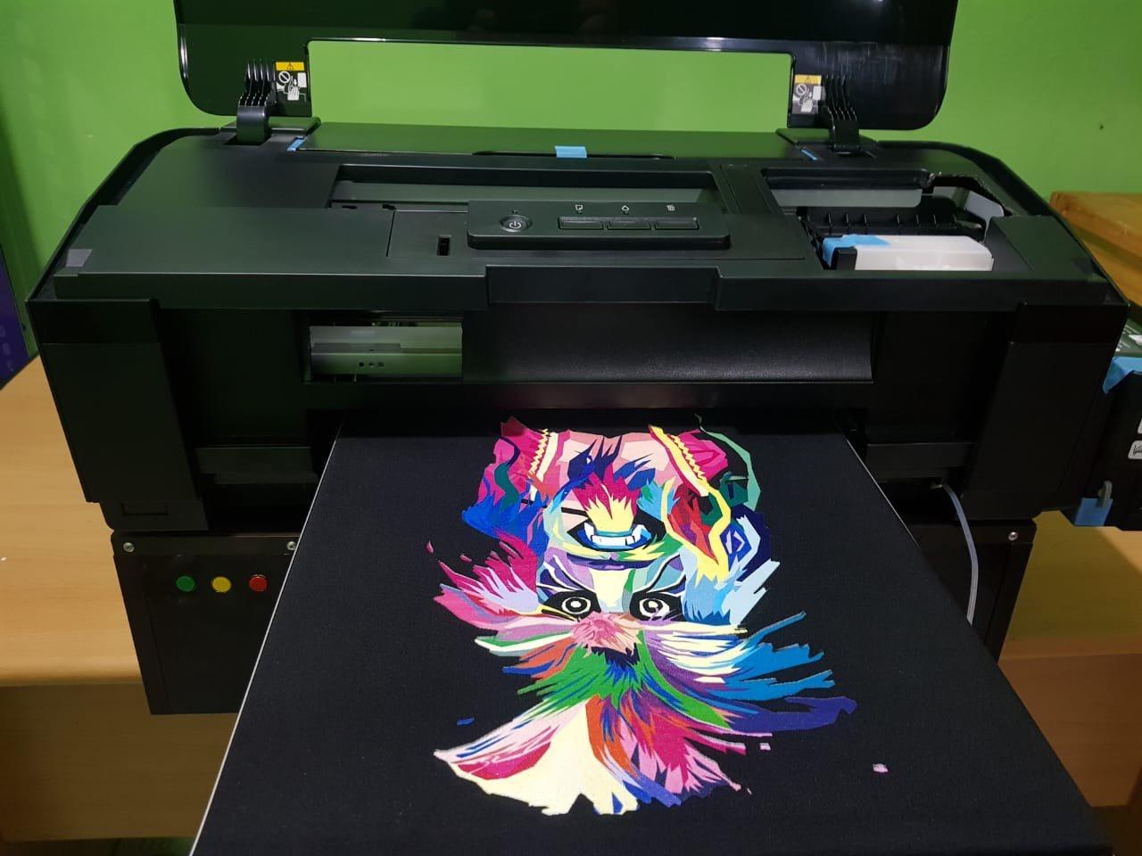 DTG Printer Epson L1800 Direct To Garment - Dark & Light T-shirt Printing