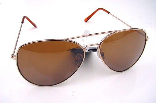 TRENDY AVIATOR STYLE SUNGLASSES 100% UV PROTECTION GBR