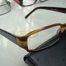 NEW QUALITY DESIGNER OPTICAL FRAMED GLASSES BROWN/BEIGE