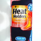 ONE SIZE NAVY BLUE WOMENS SOCK SHOP HEAT HOLDERS THERMAL SOCKS TOG RATING 2.3