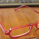 NEW FUNKY READING GLASSES RED FRAMED + 3.50 STRENGTH