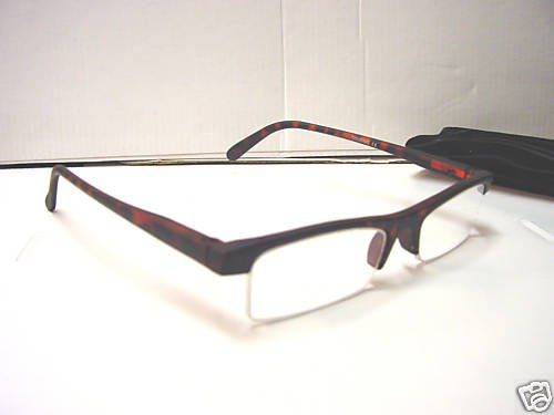 SMART READING GLASSES SPRUNG ARM TORTOISESHELL+2.0 D509