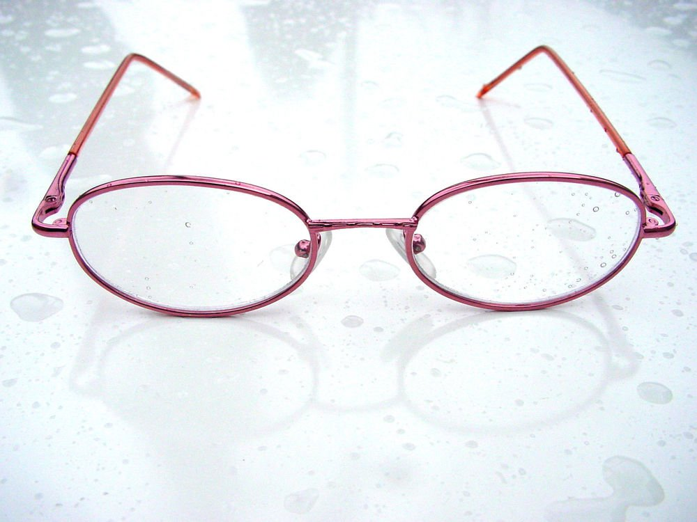 4 PAIRS QUALITY METALLIC PINK READING GLASSES SPRUNG ARM METAL FRAME + 1.5 RG113