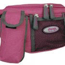 JEEP LARGE PRACTICAL FUCHSIA PINK BUM HIP BAG HANDBAG