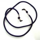 NEW THICK NECK CORD LANYARD STRAP FOR GLASSES IN NAVY BLUE