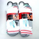 6 PAIRS MENS QUALITY COTTON RICH WHITE SPORTS SPORT SOCKS UK 9-12 EU 43-47