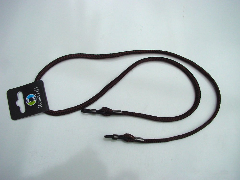 NEW GLASSES NECK CHAIN LANYARD SAFETY CORD STRAP SPECTACLES HOLDER TYNE BROWN