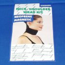 MAGNETIC BIO THERAPY NECK SHOULDER SCARF NEOPRENE WRAP