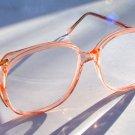 NEW STYLISH LARGE RETRO DESIGN READING GLASSES PINK +2.25 VIENNA