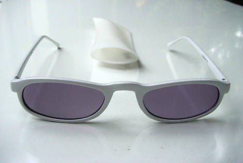 TINTED READING GLASSES WHITE SUN READERS  +1.00  D521