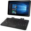 """RCA Cambio 10.1"""" 2-in-1 Tablet 32GB Intel Atom Z3735F Quad-Core Processor Windows 10"""