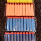 50pcs Nerf Bullet Darts N-STRIKE Toy Guns Orange Blue Yellow FAST USA SHIPPER
