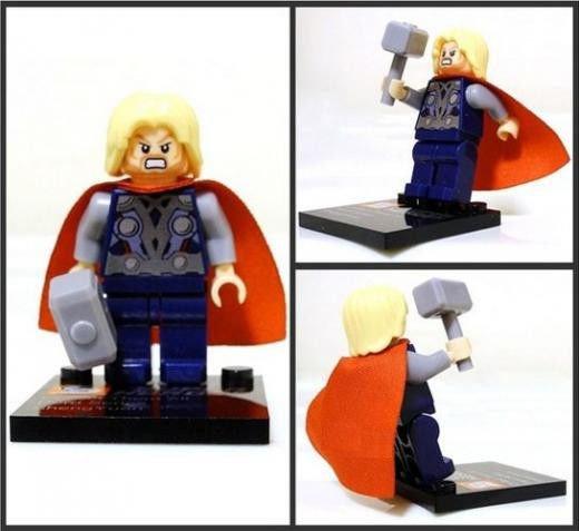 Thor Minifigure Super Hero Building Block Toy 1pc FAST USA SHIPPER