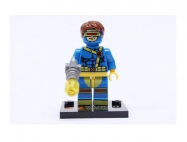 Cyclops from X-Men Minifigure Super Hero Building Block Toy 1pc FAST USA SHIPPER