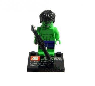 Hulk Minifigure Super Hero Building Block Toy 1pc FAST USA SHIPPER