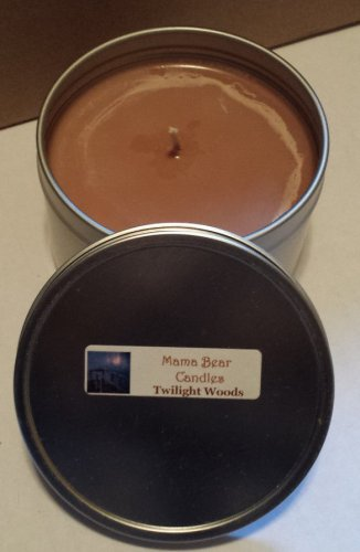 Twilight Woods Soy Candle in 8oz Tin with Lid