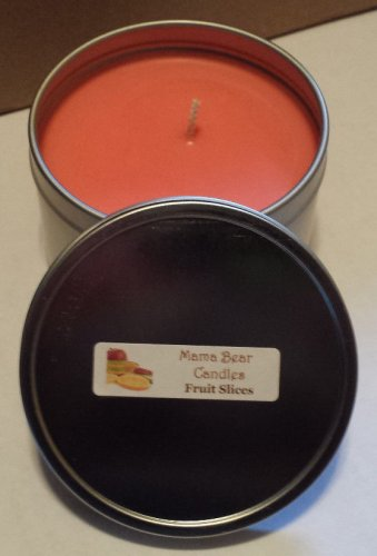 Fruit Slices Soy Candle in 8oz Tin with Lid