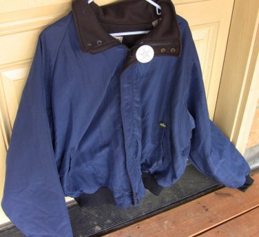 Blue or Green Jacket with Fleece inside - NEW - made in USA - sizes XL and XXL