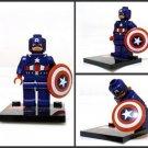 Captain America Minifigure Super Hero Building Block Toy 1pc FAST USA SHIPPER