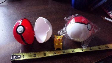 Pokemon Pokeball plus free gift of Pikachu