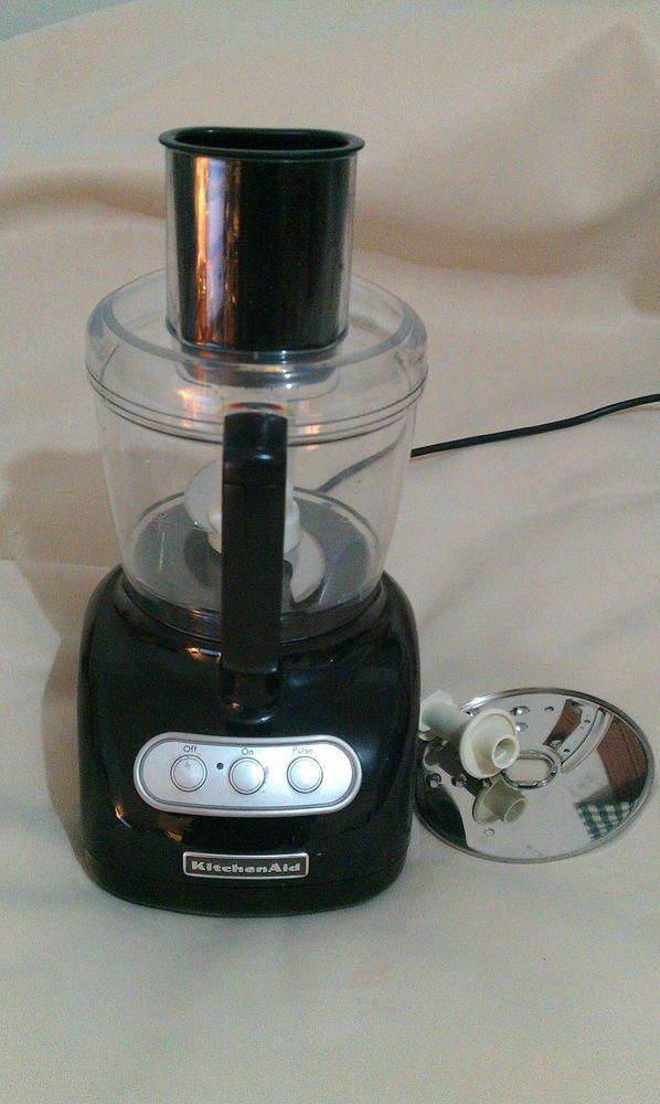 KitchenAid     KFP715OB2     7-Cup Food Processor Onyx .Black .