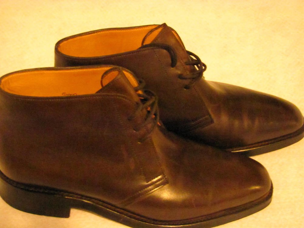 """JOHN LOBB """"ENGLAND MADE"""" BOOTS .Pre-Owned.Read.Size?"""