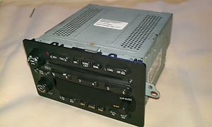 Delco Radio Car Audio 15074589 Used Delco Radio.  CD changer 2001-2003 GM  Cars